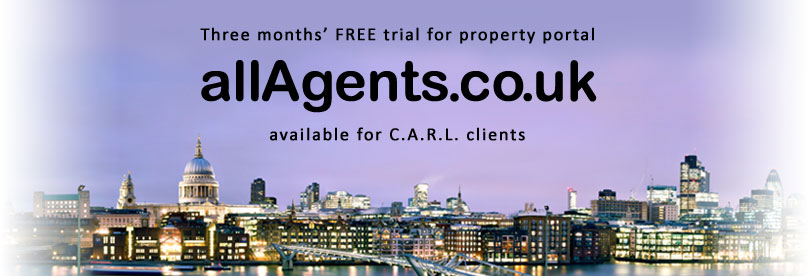 Three months' FREE trial at allAgents.co.uk's property portal